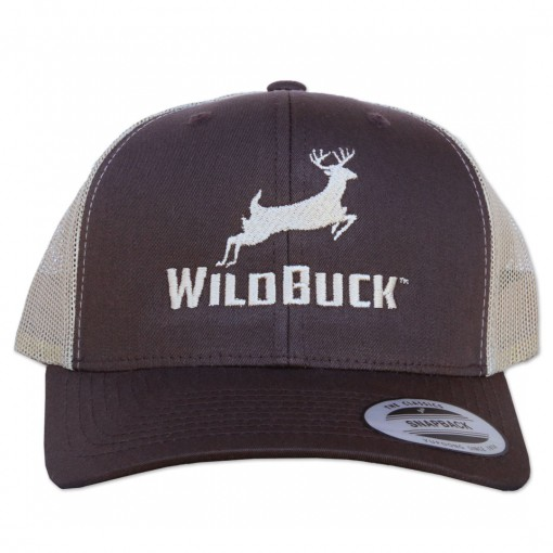 WildBuck Original Chocolate Antler Snapback