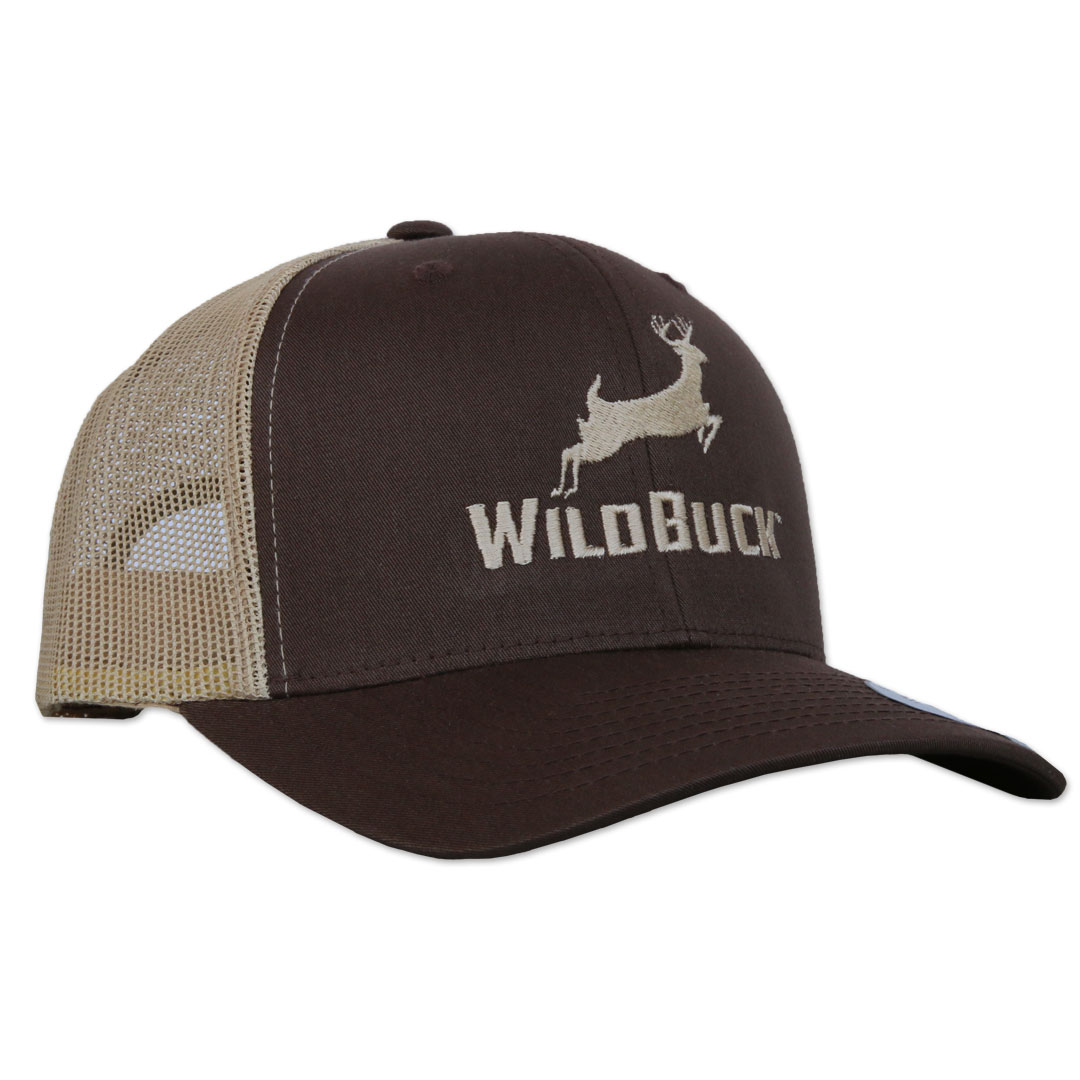WildBuck Original Chocolate Antler Snapback Side