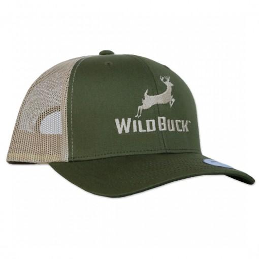 WildBuck Original Yucca Green Snapback Side