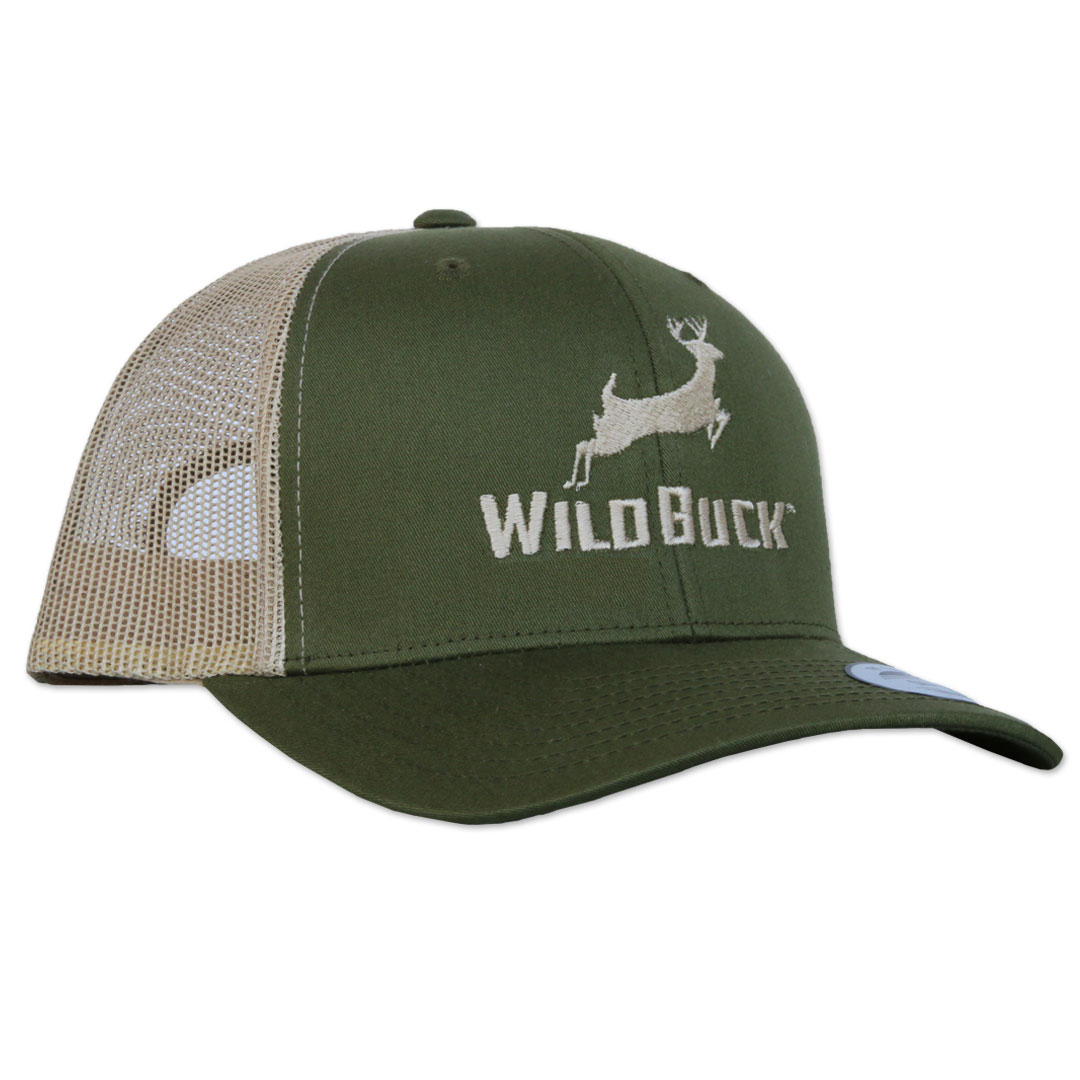 WildBuck Original Yucca Green Snapback Side