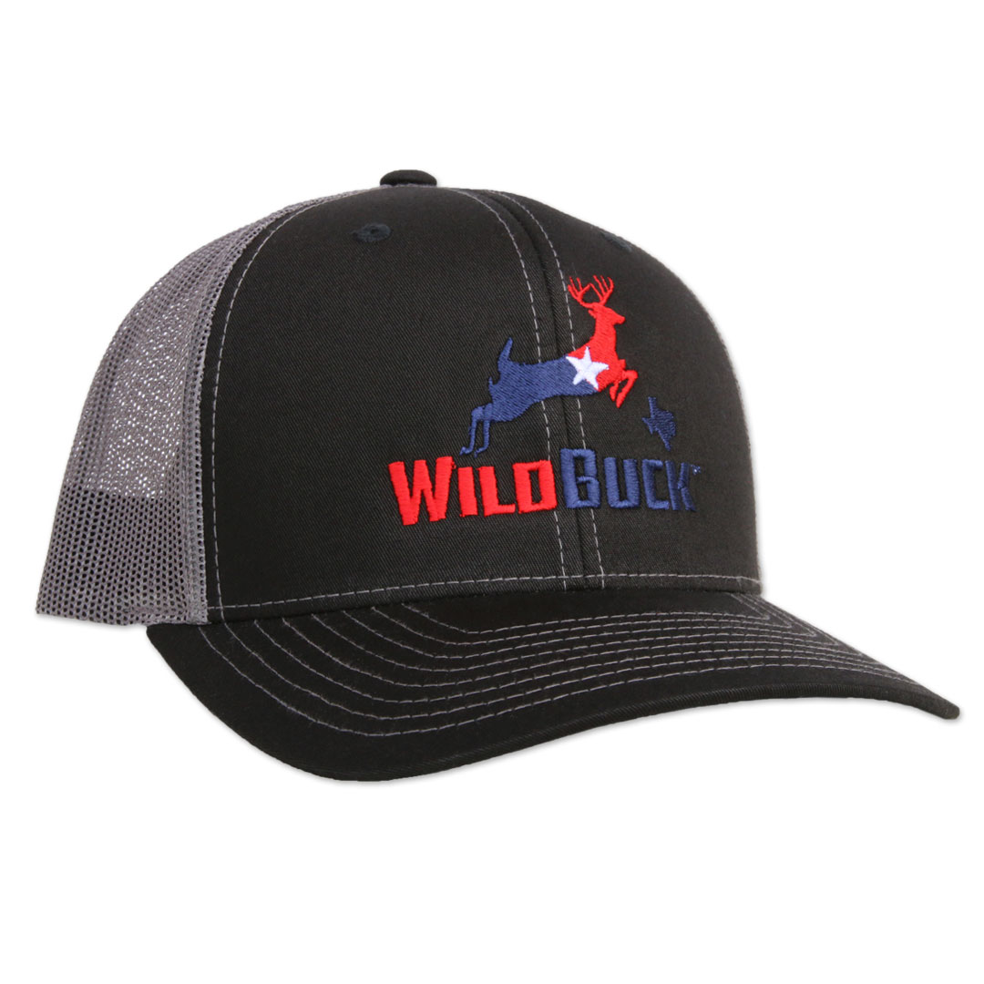 WildBuck Texas RWB Black/Charcoal Side