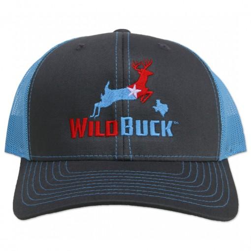 WildBuck Texas RWB Charcoal/Bluebonnet Front