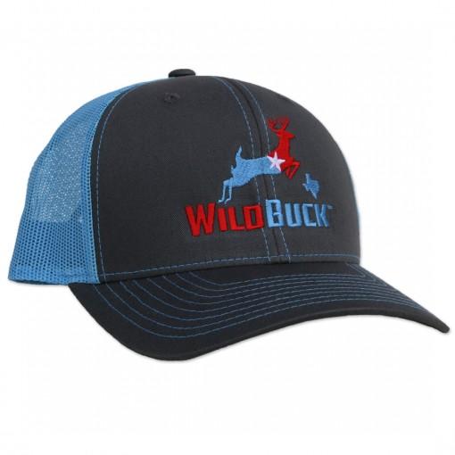 WildBuck Texas RWB Charcoal/Bluebonnet Side