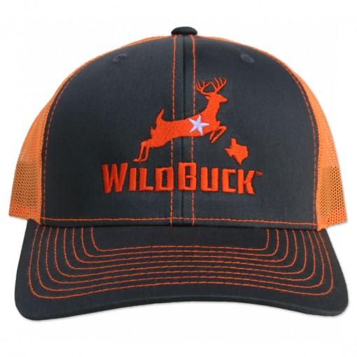 WildBuck Texas Charcoal/Neon Orange Front
