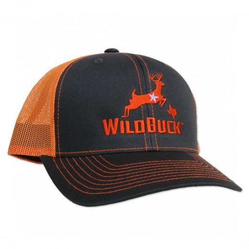 WildBuck Texas Charcoal/Neon Orange Side