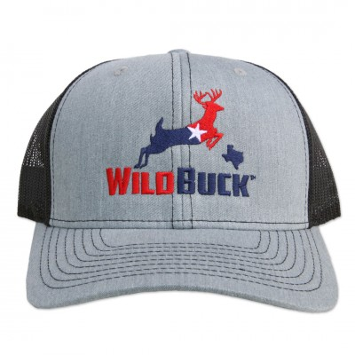 WildBuck Texas RWB Heather Gray/Black Front