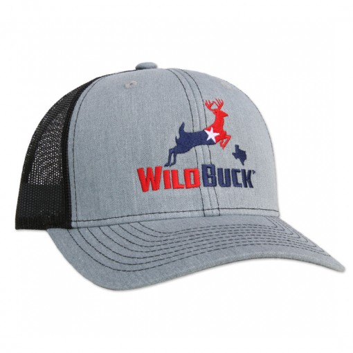 WildBuck Texas RWB Heather Gray/Black Side