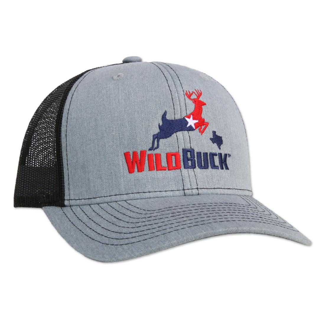 WildBuck Texas RWB Heather Gray/Black Side