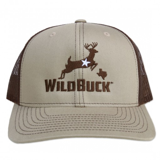 WildBuck Texas Buckskin/Coffee Front