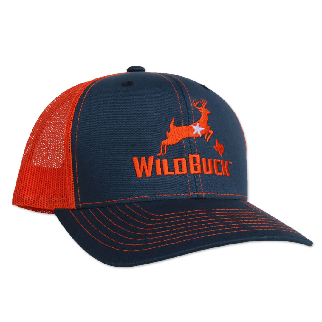 WildBuck Texas Navy/Orange Side