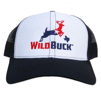 WildBuck Texas RWB White/Navy Front