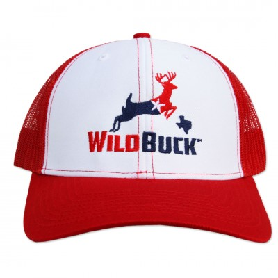 WildBuck Texas RWB White/Red Front