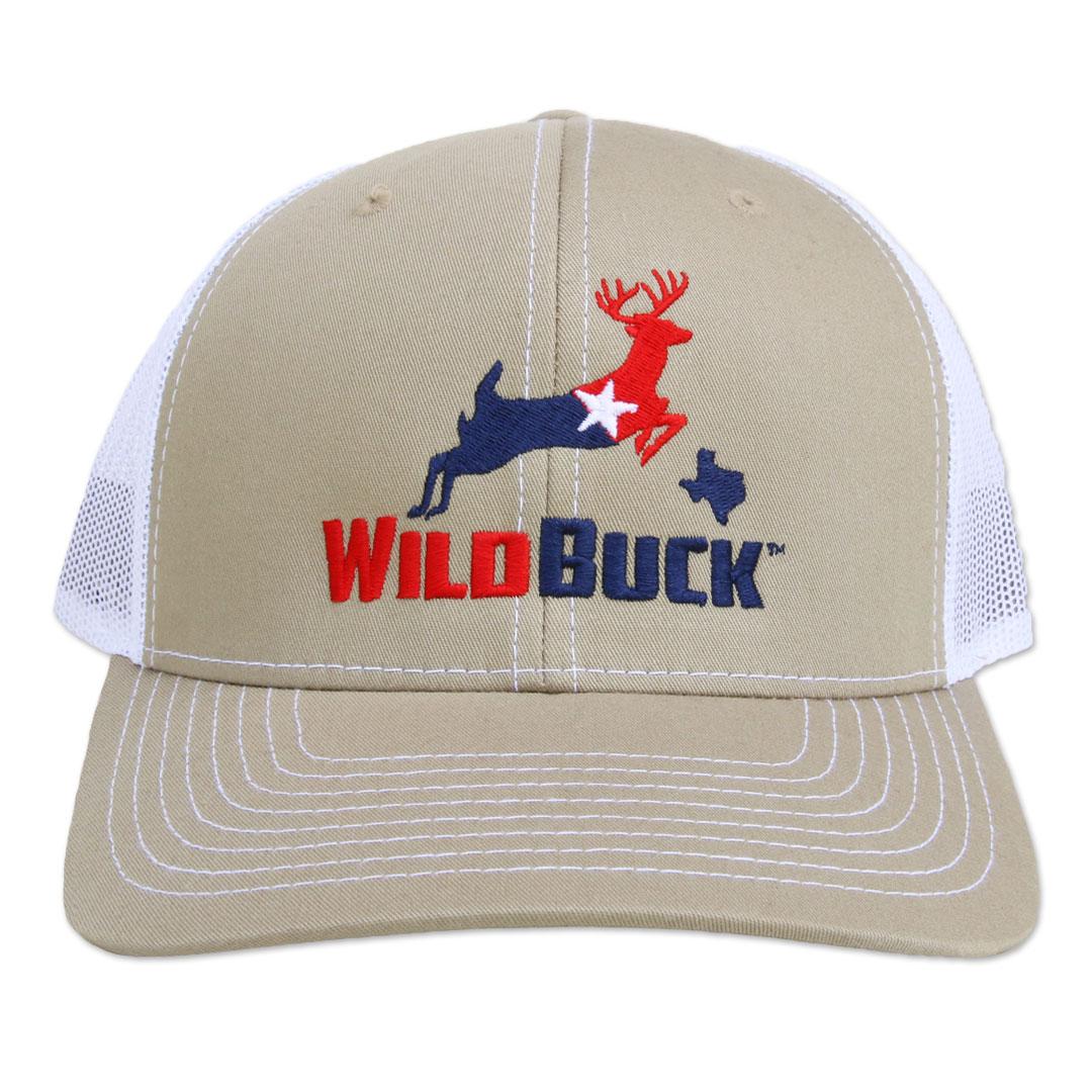 WildBuck Texas RWB Khaki/White Front