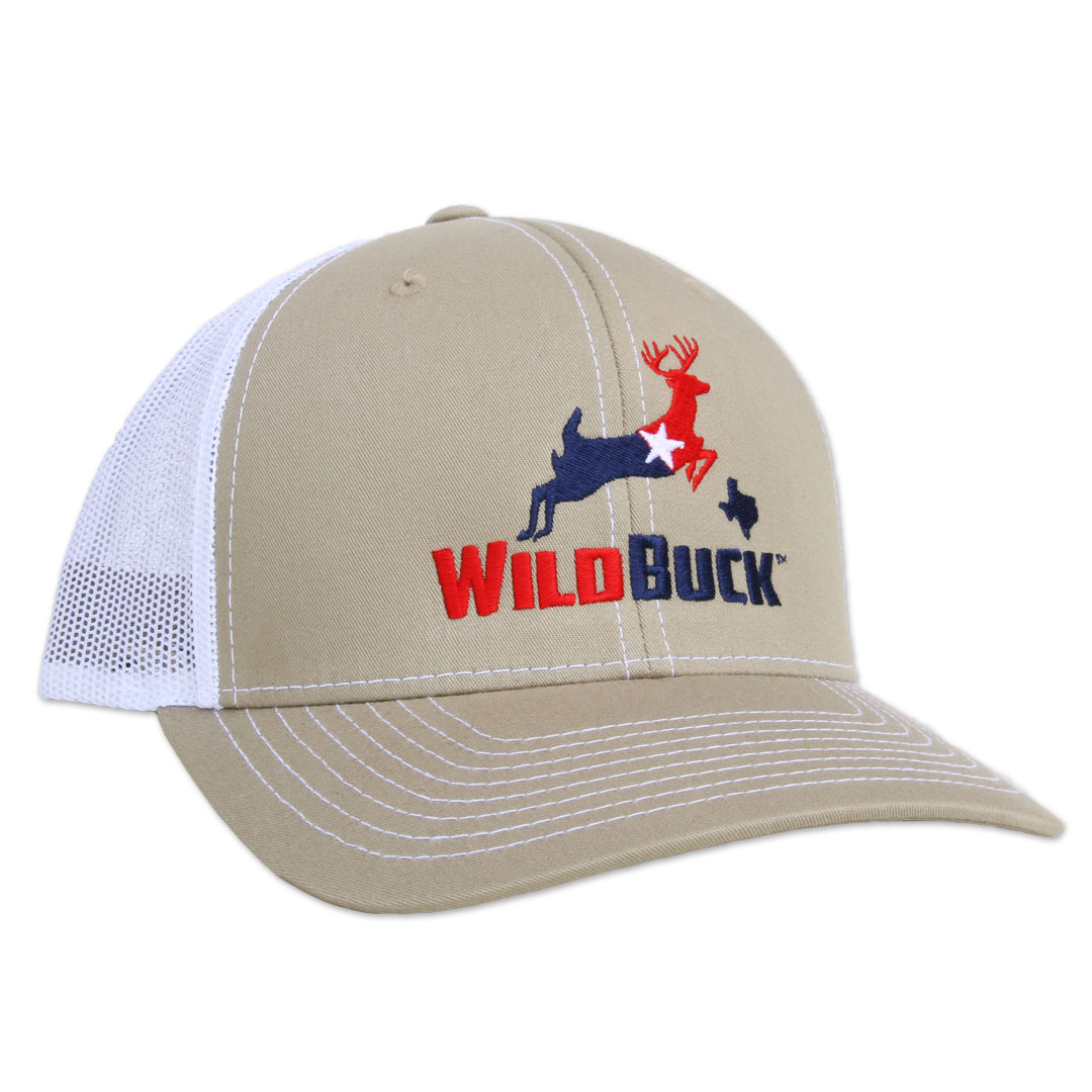 WildBuck Texas RWB Khaki/White Side
