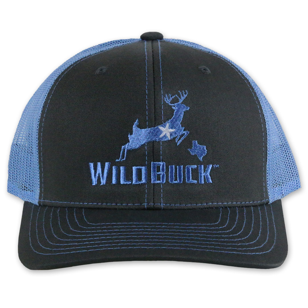 WildBuck Texas Charcoal/Bluebonnet Front