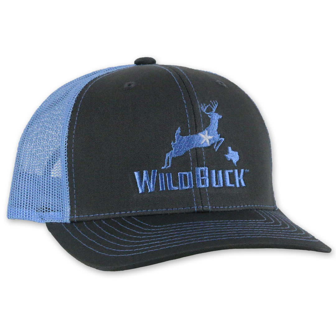 WildBuck Texas Charcoal/Bluebonnet Side