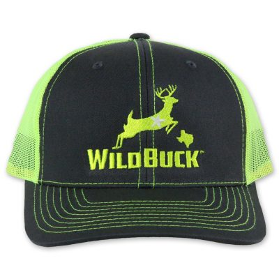 WildBuck Texas Charcoal/Neon Yellow Front