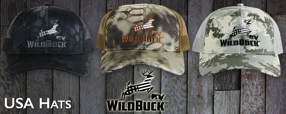 WildBuck USA Hats