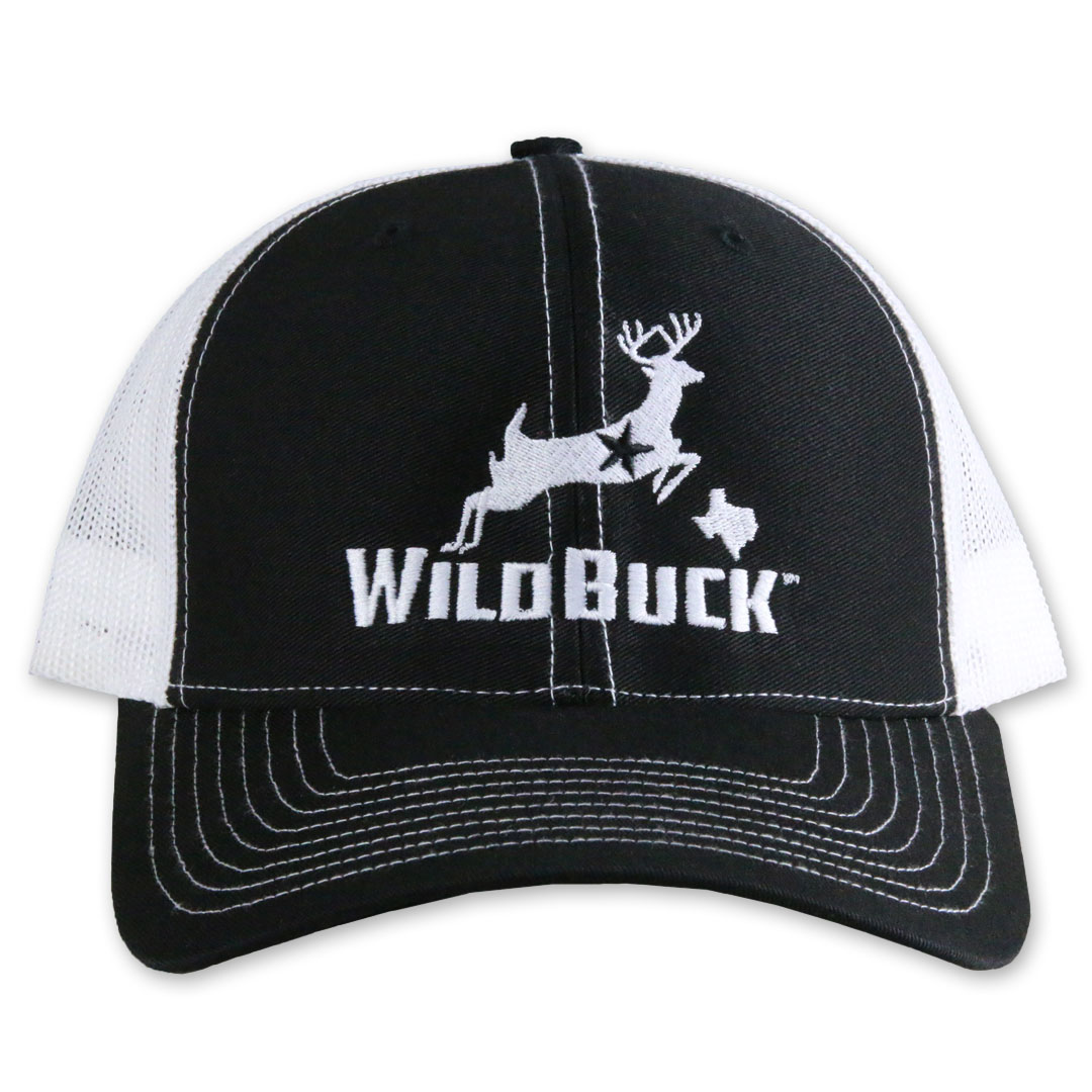 WildBuck Texas Black/White Front