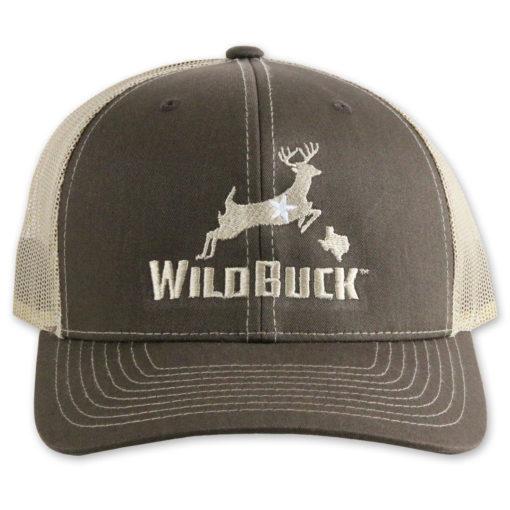 WildBuck Texas Chocolate Antler/Khaki Front