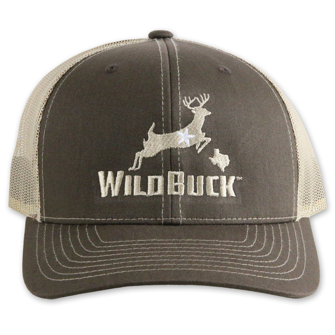 WildBuck Texas Chocolate Antler/Khaki Front