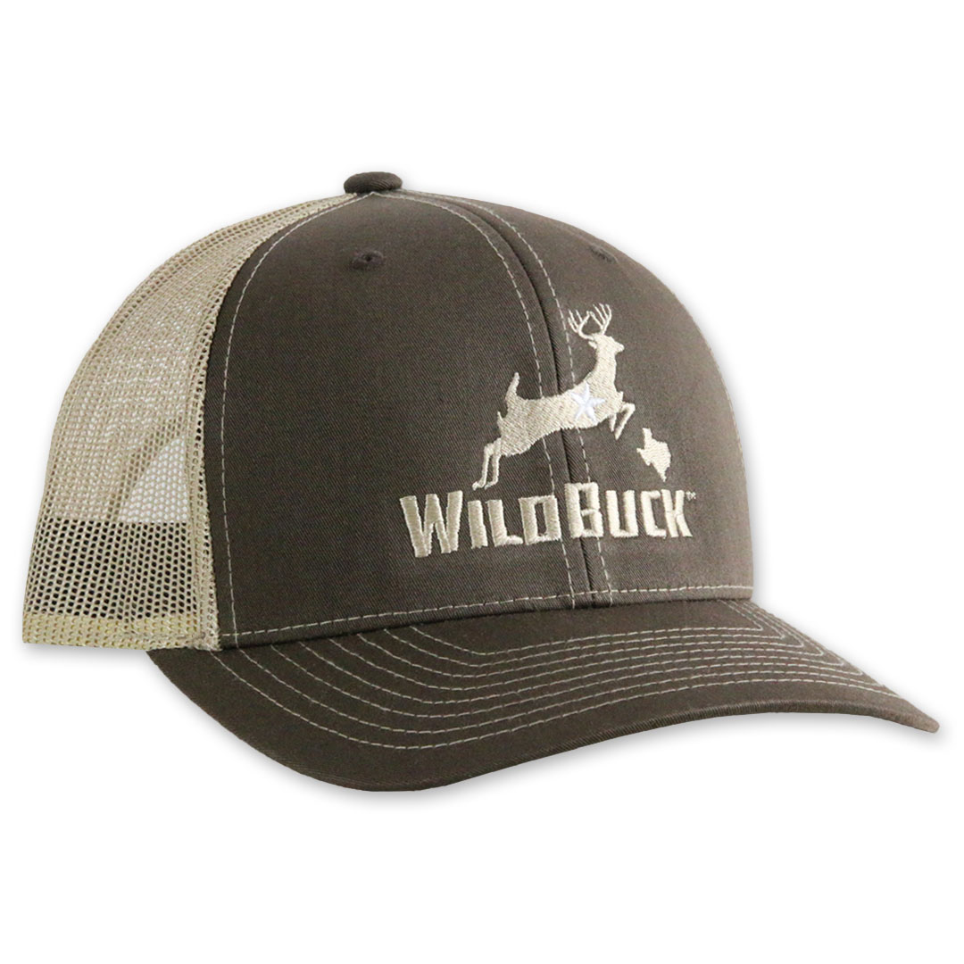 WildBuck Texas Chocolate Antler/Khaki Side