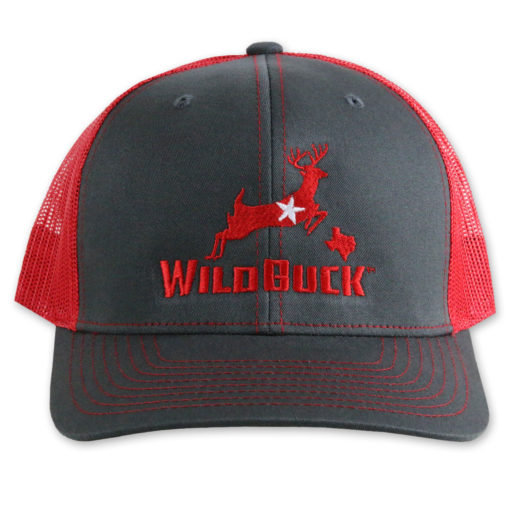 WildBuck Texas Charcoal/Red Front