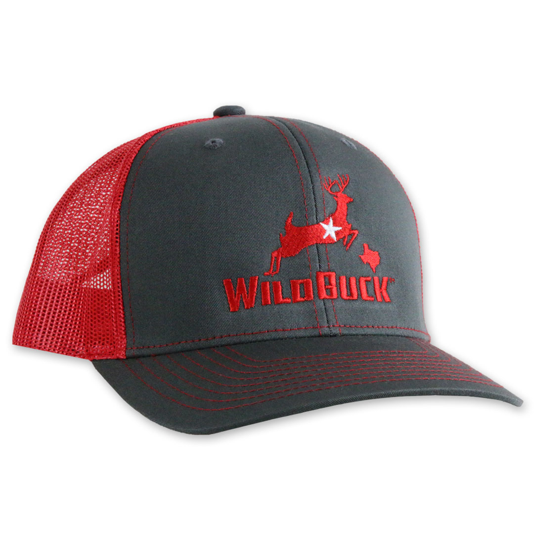 WildBuck Texas Charcoal/Red Side