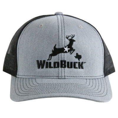 WildBuck Texas Heather Gray/Black Front