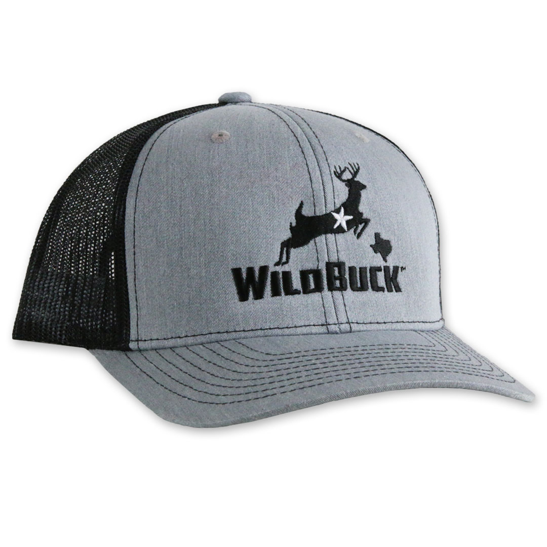 WildBuck Texas Heather Gray/Black Side