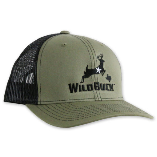 WildBuck Texas Loden Green/Black Side