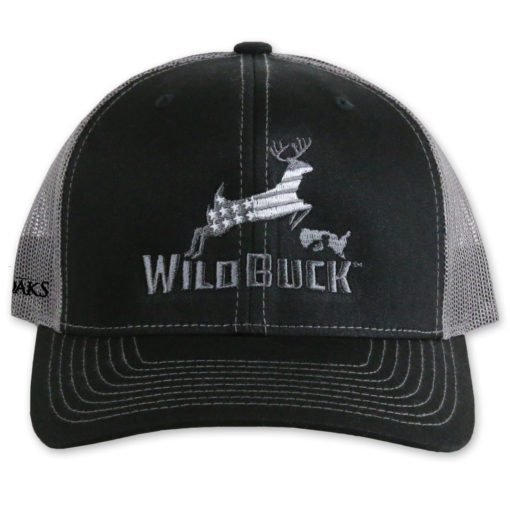 WildBuck USA TO Black/Charcoal Gray Front
