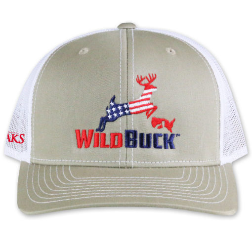 WildBuck USA TO Khaki White Front