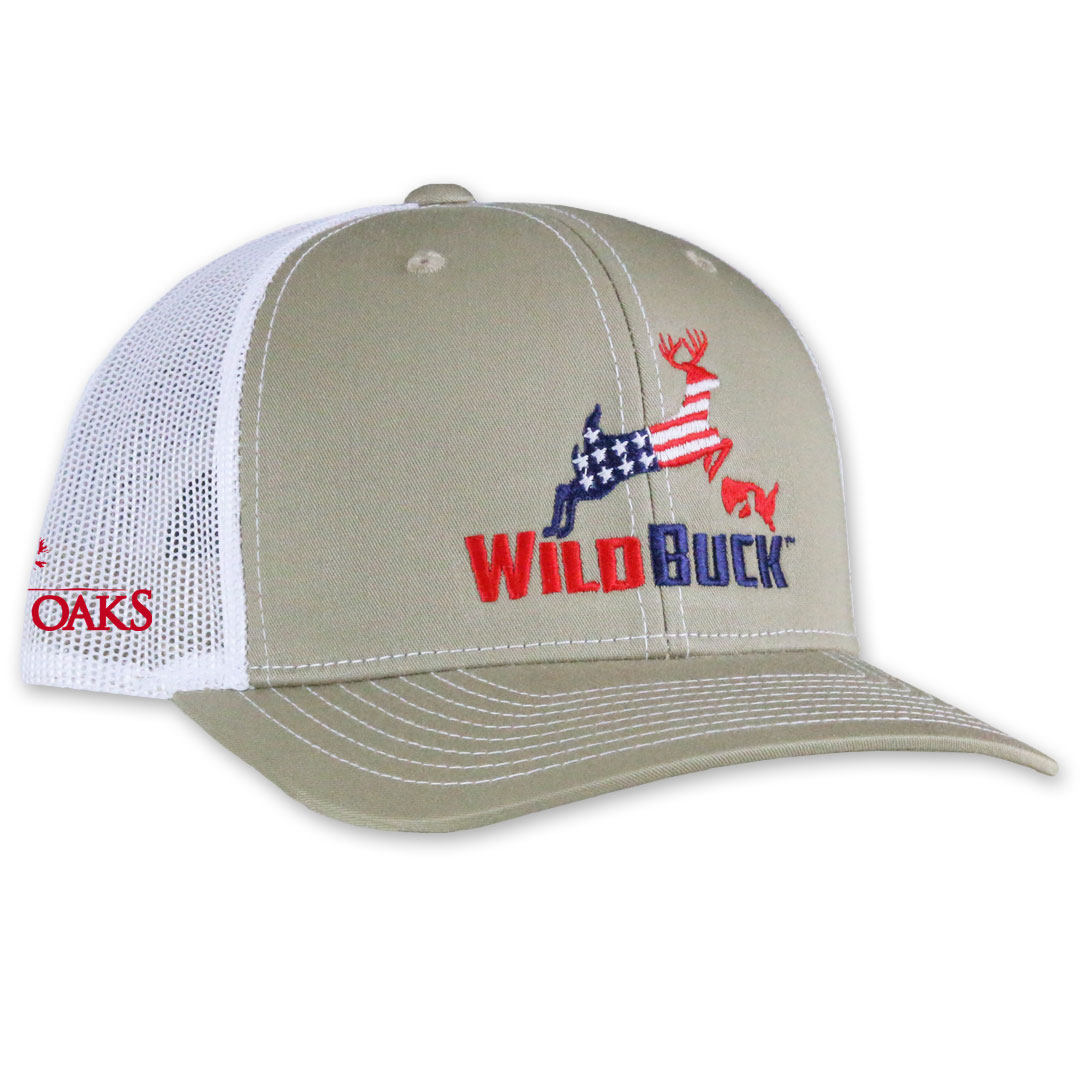 WildBuck USA TO Khaki White Side