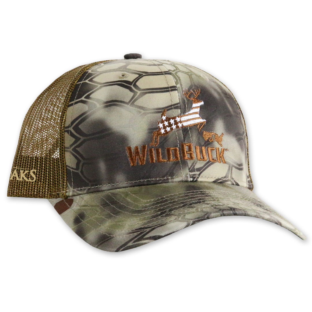 50f00758163 WildBuck™ Patriot Kryptek Highlander Mesh Snapback - WildBuck™