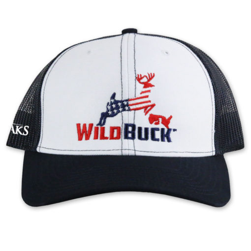 WildBuck USA TO White Navy Front