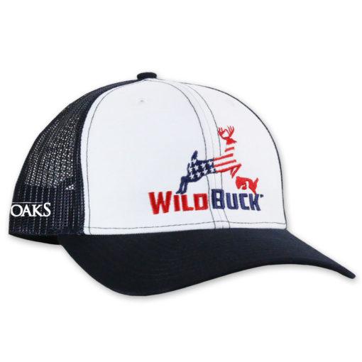 WildBuck USA TO White Navy Side