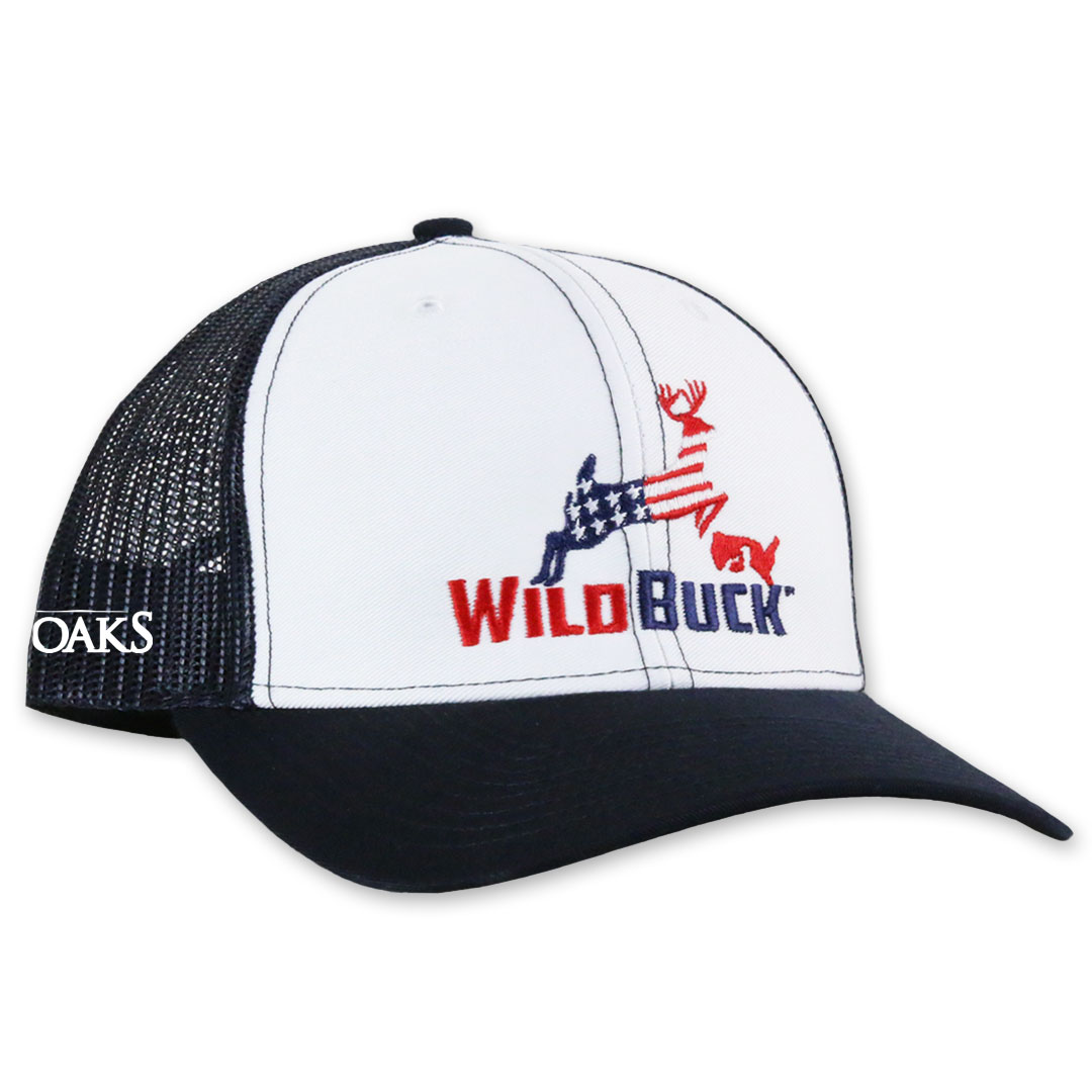 WildBuck USA TO White Navy Side