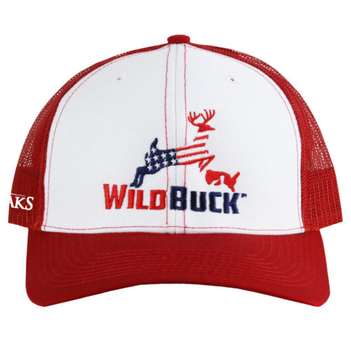 WildBuck USA TO White Red Front