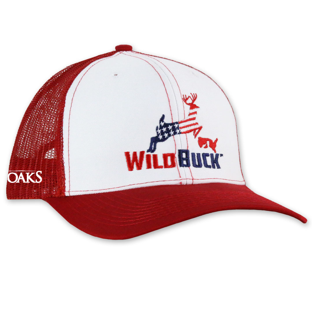 WildBuck USA TO White Red Side