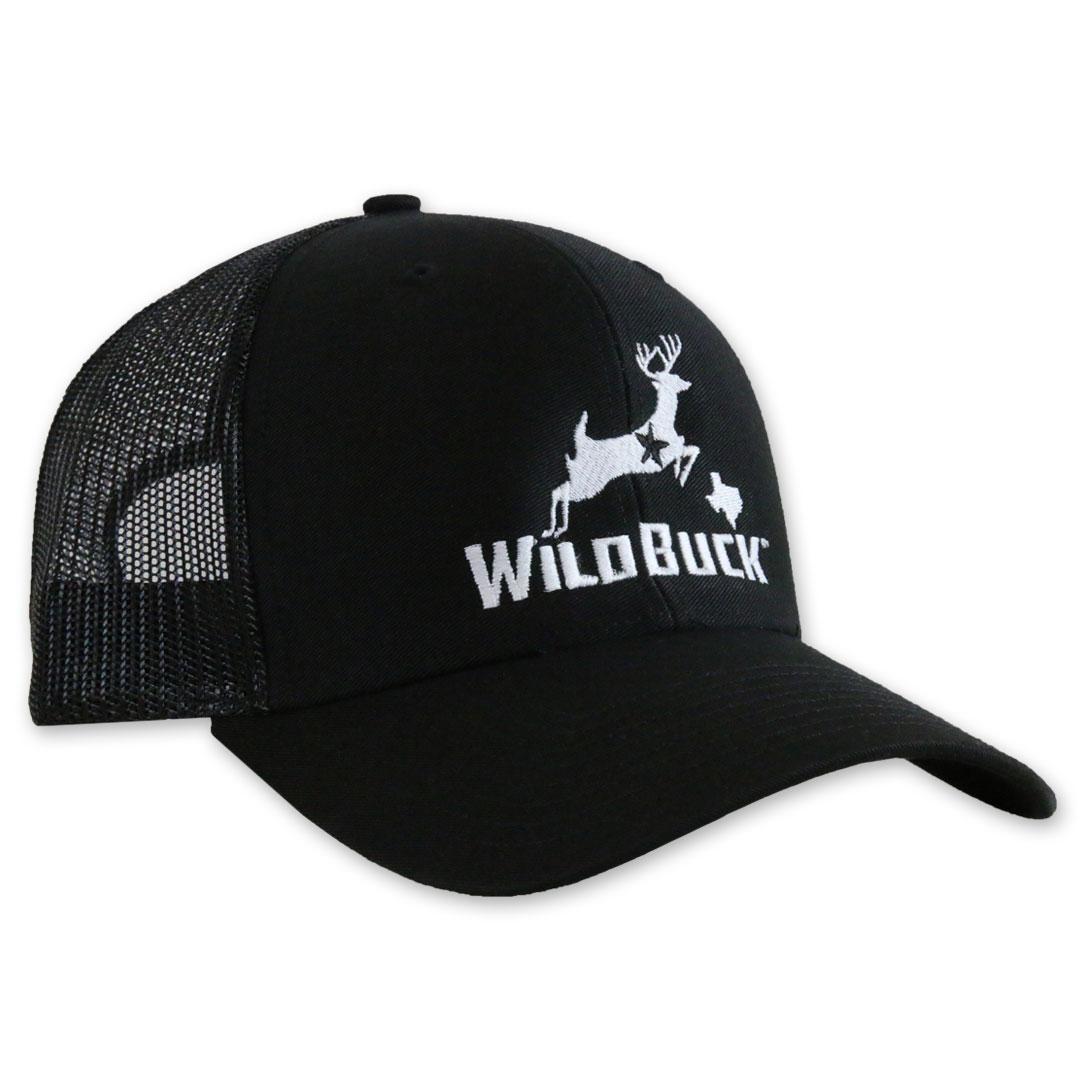 WildBuck Texas Black Side white thread