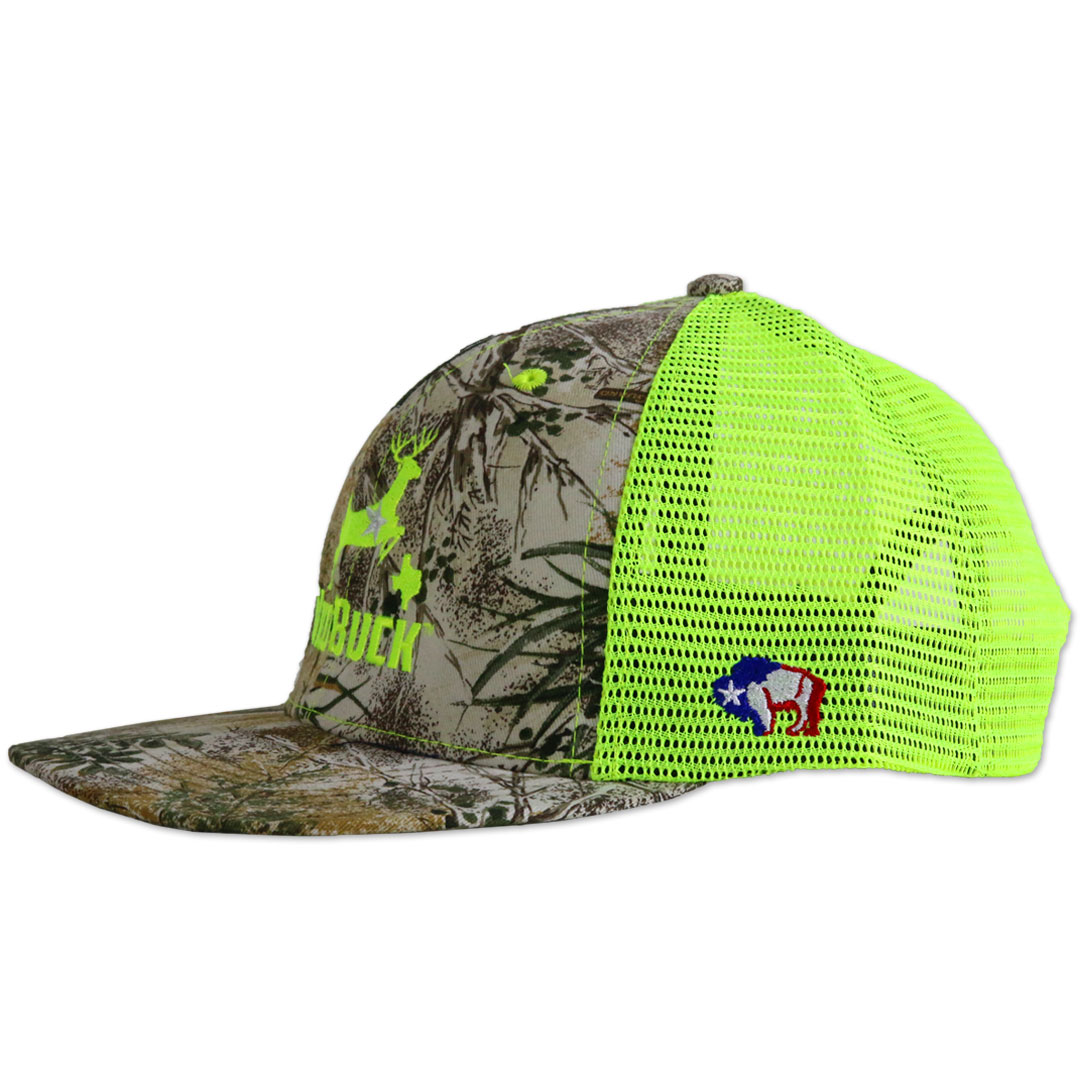 WildBuck GameGuard AMHC Neon Green Textanka Side