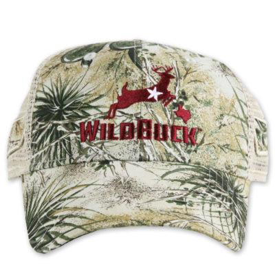WildBuck GameGuard Texas Maroon Mesh Front