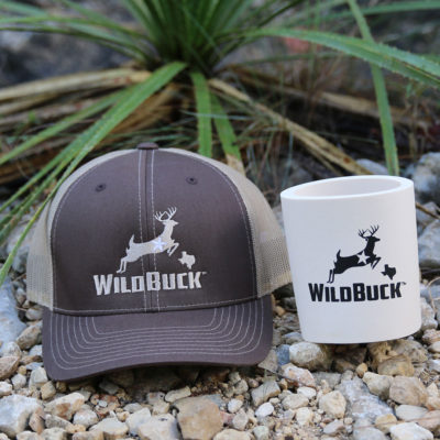 WildBuck Texas Chocolate Antler Hard Foam Koozie Bundle