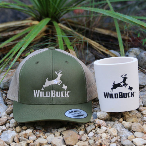 WildBuck Texas Yucca Green Hard Foam Koozie Bundle