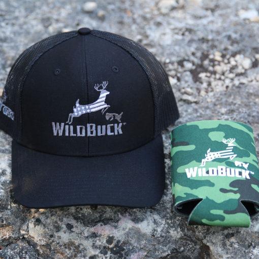 WildBuck USA Black Mesh Koozie Bundle