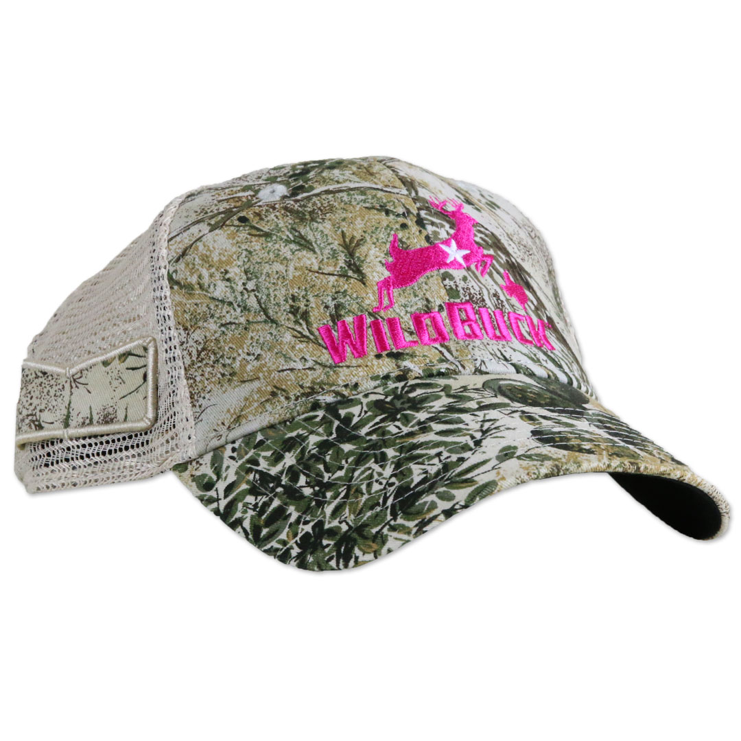 WildBuck GameGuard Texas Pink Mesh Side