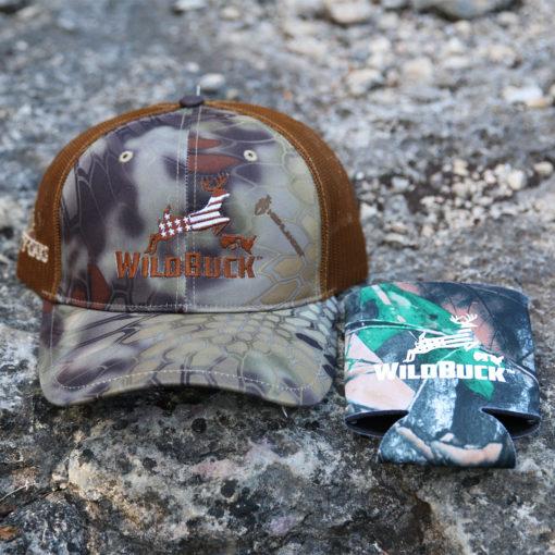WildBuck USA Kryptek Highlander Mesh Koozie Bundle