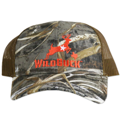 WildBuck Realtree Max-5 Texas Orange Mesh Front