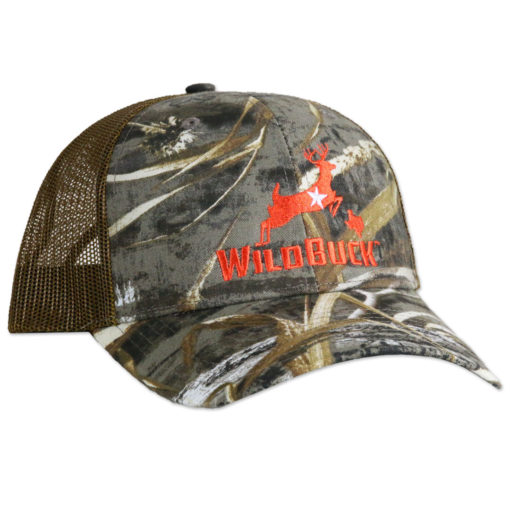 WildBuck Realtree Max-5 Texas Orange Mesh Side